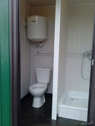 Бытовки с душем и туалетом